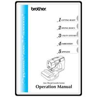 Instruction Manual, Brother SE-270D