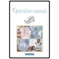 Instruction Manual, Brother ULT-2003D