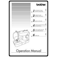 Instruction Manual, Brother XL-2600