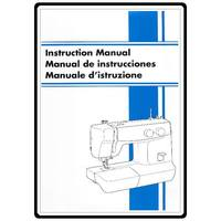 Instruction Manual, Brother XL-5010