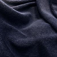 67in Sherpa Fleece Fabric - Navy