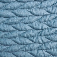 56in Pre-Quilted Fabric - Blue