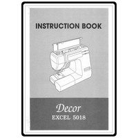Instruction Manual, Janome Decor Excel 5018