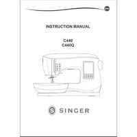 Instruction Manual, Singer 440Q Legacy