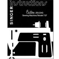 Instruction Manual, Singer 737