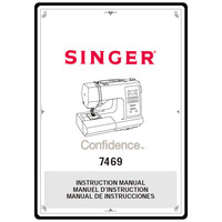 Instruction Manual, Singer 7469 Confidence