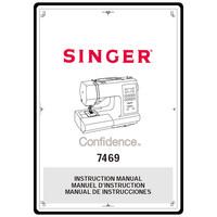 Instruction Manual, Singer 7469 Confidence