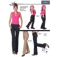 Women's Stretch Jeans Pattern