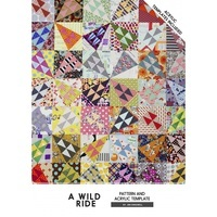 Jen Kingwell, A Wild Ride Quilt Pattern with Template