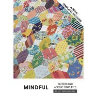 Jen Kingwell, Mindful Quilt Pattern with Template
