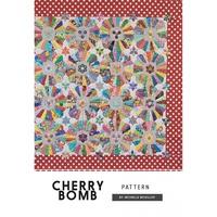 Jen Kingwell, Cherry Bomb Quilt Pattern