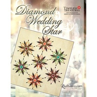 Diamond Wedding Star Wall Quilt Pattern