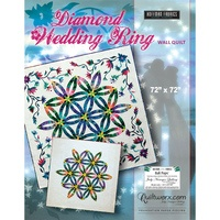 Diamond Wedding Ring Wall Quilt Pattern