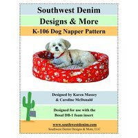 Dog Napper Pet Bed Pattern