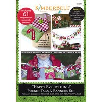 Happy Everything! Pocket Tags & Banners Set, CD