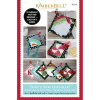 That's Sew Chenille! Christmas Hot Pads Pattern