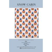Snow Cabin Quilt Pattern