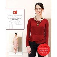 Rush Hour Dress & Blouse Pattern, Liesl & Co.