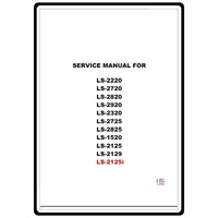Service Manual, Brother LS2125I