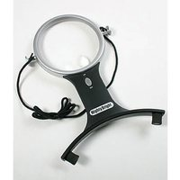 4in Hands-Free Lighted Magnifier, Mighty Bright