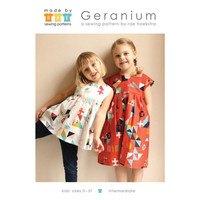 Made by Rae, Geranium Dress Pattern