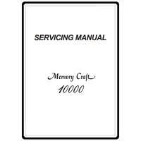 Service Manual, Janome MC10000