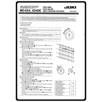Service Manual, Juki MO-654