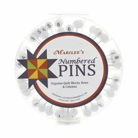 Marilee's Numbered Pins (1-20) - 130ct