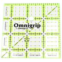 "3.5"" Square, No-Slip Ruler, Omnigrid"