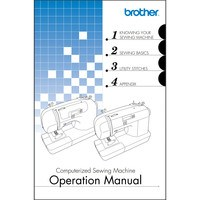 Instruction Manual, Brother CS-6000i