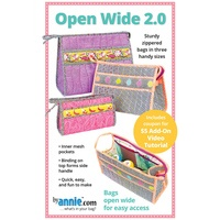 Open Wide Bag Pattern 2.0