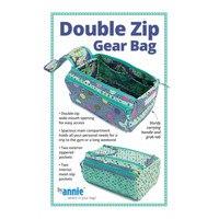 Double Zip Gear Bags Pattern