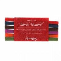Fabrico Marker Set, Premium Fabric Markers (6pk)