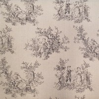 P/K Lifestyles, Victorian, Tan Upholstery Fabric - 56""