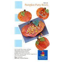 Pumpkin Party Bowls Pattern, Kristine Poor