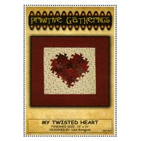 My Twisted Heart Pattern, Primitive Gatherings