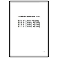 Service Manual, Brother PS2300