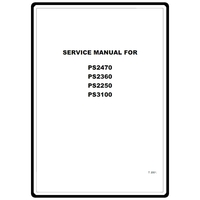 Service Manual, Brother PS3100