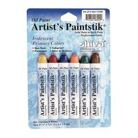 Shiva Artist Paintstick Set, Iridescent Primary Colors - 6pk