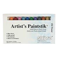 Shiva Paintstick Set, Iridescent Professional Grade - 12pk