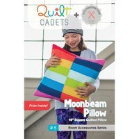 Moonbeam Pillow Pattern - Quilt Cadets