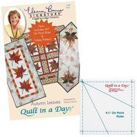Autumn Leaves Pattern, Quilt in a Day, Eleanor Burns