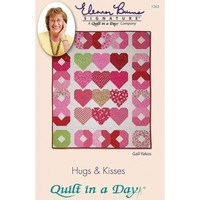 Hugs & Kisses Pattern, Eleanor Burns, Quilt in a Day