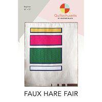 Faux Hare Fair Quilt Pattern