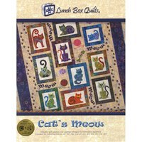 Cat's Meow Embroidery CD - 12 Designs