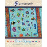 Ocean Odyssey Embroidery CD with Pattern - 24 Designs
