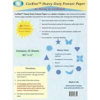 "CutRite Heavy Duty Freezer Paper 25pk, 8-1/2""x 11"""