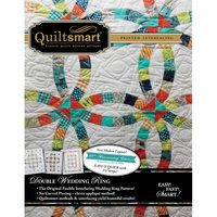 Quiltsmart Double Wedding Ring Quilt Pattern Kit