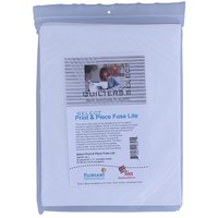 Quilters Select Print & Piece Fuse Lite Sheets - 25pk - 8.5inx11in