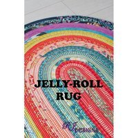 Jelly-Roll Rug Pattern, R.J. Designs